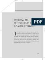 The Resilient Enterprise – Chapter 8 Backup and Disaster Recovery