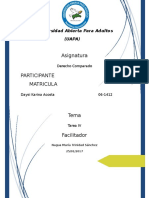 Tarea IV Derecho Comparado-daysi Acosta
