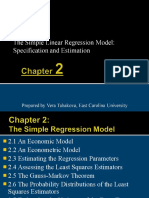 ch02 Simple Linear Regression Model