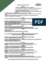 Agenda Da Pastoral Familiar - Ano 2017