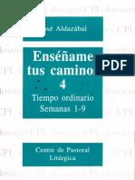 Aldazabal Jose - Tiempo Ordinario - Semanas 1-9.pdf