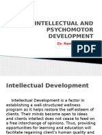 Intellectual and Psychomotor Development