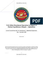 (U-FOUO) U.S. Marine Corps Civil Affairs Detachment Operations in Afghanistan Lessons Learned.pdf