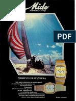 Relógio Mido 1983