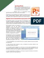 Características de PowerPoint