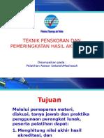 5. Teknik Skoring 2015