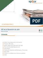 El proyecto IDE de la Diputación de Jaén en los medios