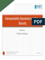 Ch8 InteroperabilityStd&Cyber Security S