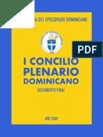 I Concilio Plenario Dominicano