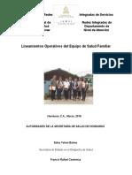 Lineamientos Equipos de Salud Familiar Final 07.03.16