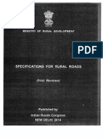 Spe for Rural Roads