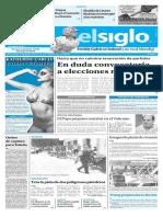 Edición Impresa Elsiglo 11-02-2017