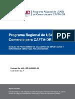CAFTA-DR_Manual de procedimientos  Imp Exp para Honduras_Ago.pdf
