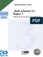 MarkSchemeP1