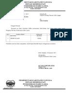 Surat Permintaan Obat&Obhp