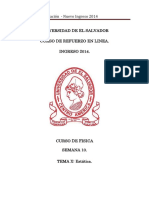 Semana10 de Fisica. Unidad VI Estatica Version PDF