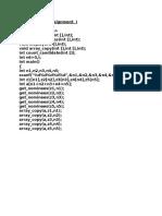 nptel programming assignment  i