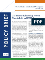 Make in India & Recent FDI Inflows