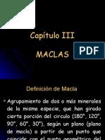 Mineralogia Capítulo III Maclas