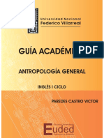 Guia de  Antropología General