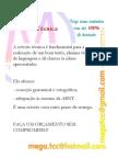 Revisão Técnica (correção gramatical e ortográfica E adequação às normas da ABNT