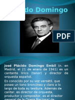 Diapositivas Placido Domingo