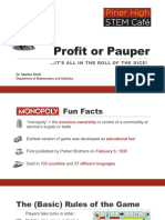 profit or pauper shott piner stem cafe feb17