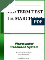 Water Treatment Lant