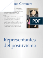 Representantes Del Positivismo