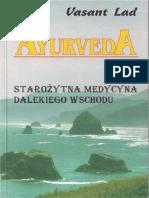 Vasant Lad - Ayurveda_ Starożytna Wiedza Dalekiego Wschodu