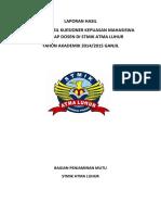 Laporan Hasil Kuesioner Mahasiswa Terhadap Dosen 2014-2015