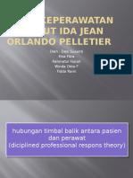 Teori keperawatan menurut Ida Jean Orlando Pelletier.pptx