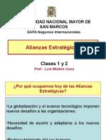 Clases 1 y 2 Alianzas Estrategicas Prof Luis Molero