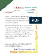 Verificação Literária - Cursos
