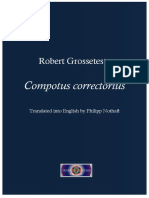 1 Robert Grosseteste Compotus Correctorius Trans Philipp Nothaft