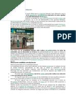 Definiciones de Contabilidad Bancaria