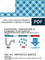 A Presentation on Water in Singapore