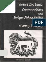 Zito Lema, V. Conversaciones con Enrique Pichon Riviere sobre arte y la locura.pdf
