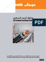 XLPE Insulated Low Voltage Cables 2012