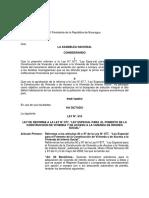 Ley No. 819 Reforma a La Ley 677 de Vivienda