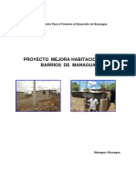 Proyecto Mejora Habitacional en Los Barrios de Managua