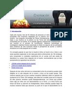 Cremación vs Entierro.