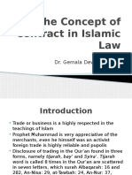 Concept of Contract in Islamic Law (Eng)