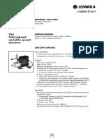 TECHNICAL Lowara EHM-td-En 50 Hz Part55