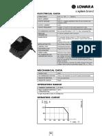 TECHNICAL Lowara EHM-td-En 50 Hz Part56