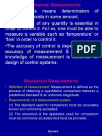 Measurements & Transducers