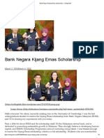 Bank Negara Kijang Emas Scholarship – CollegeLAH