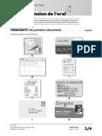 Exemple Sujet Delf Pro a1 Livret Correcteur