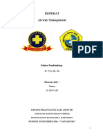 Referat - Airway Management