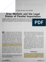 Gray Markets and the Legal